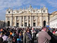Papal audience in St Peters Square, Vatican City 2014