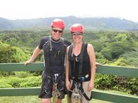Ziplining in Kauai 2012