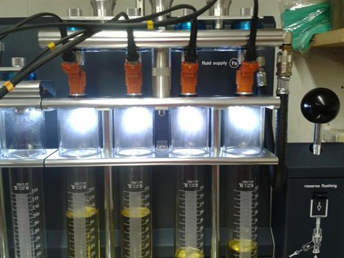 Fuel Injector Flow Testing