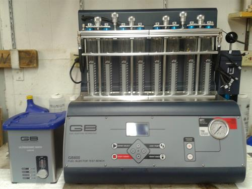 GB800 Fuel Injector Cleaning and Flow Testing Bench