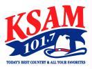 KSAM-FM 101.7 / 104.9 THE HITS  KHVL