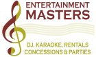 Entertainment Masters-DJ, Karaoke, Rentals, Concessions & Party Planning Service