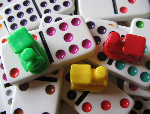 Mexican Train Dominoes At The Senior Center Jul 31 2014