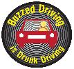 Buzzed Driving is Drunk Driving - Paid for by Federal Highway Safety Funds