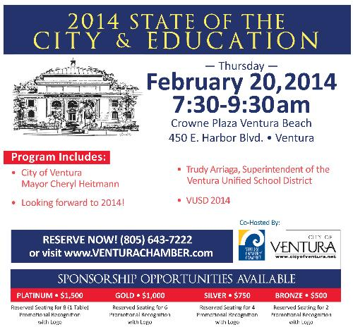 ... 2014 - 2/20/2014 - Feb 20, 2014 - Events   Ventura Chamber of Commerce