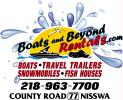Boats and Beyond Rentals, Inc.