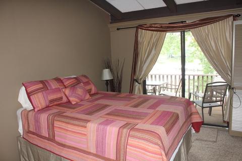 Master Bedroom overlooking the harbor