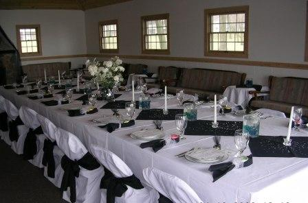 Perfect for rehearsal dinners, bridal & baby showers, as well as business retreats & meetings