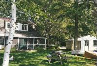 Cottage and garage