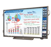 Sharp's interactive digital touchscreen whiteboard
