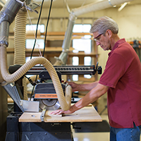 SunRiver is home to many wonderful amenities, including a woodshop, ballroom, indoor and outdoor swimming pools, and a pottery studio.