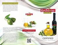 Redstone Olive Oil Brochure front