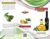 Redstone Olive Oil Brochure front