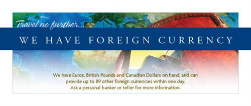 WCB_Foreign Currency at Teller Lines