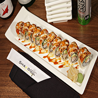 Shakou Dragon Fire Roll