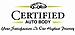 Certified Auto Body