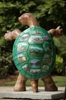Sandy Springs is known for its artistic turtles.