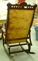 estate shipping - eastlake recliner rocking chair