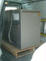 freight shipping - large electrical cabinet on pallet
