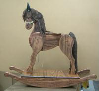 gift shipping - woodworked rocking horse to Hawaii