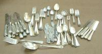estate shipping - silver flatware