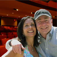 Sam Morell and Donna Garr - Co-Founders of The Small Town Theatre Company
