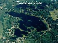 Known for its bluegill and bass fishing, it's only natural that the Horsehead Lake Association would be host to the area's largest winter festival ''Little Tip Up Town'' and is enjoyed by young and old alike. Summer finds the pontoon, fishing and water skiing boats sharing this large body of water in harmony.