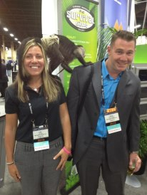 Sometimes things get ''wild'' at trade shows