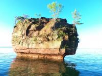 Balancing Rock Stockton Isand