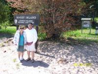 Raocky Island tour