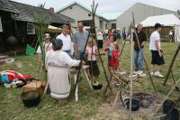 Connecting Cultures fur trade event held annually in late July