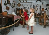 Young visitors in the original museum