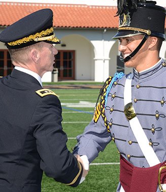 President Handshake