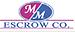 M&M Escrow Co.