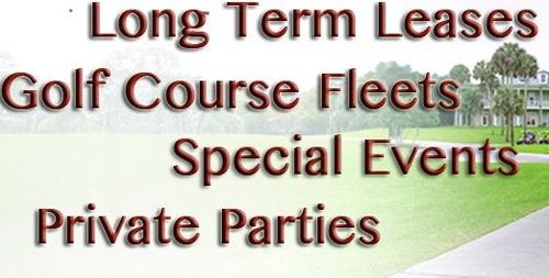 Cart Mart, San Marcos, CA, Long Term Leases, Golf Course Fleets, Special Events, Private Parties
