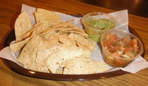 Freshley made: Pico De Gallo & Guacamole w/ chips