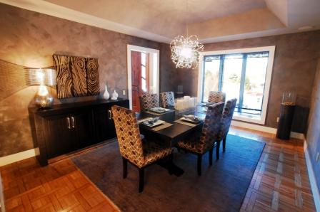 Pheasant Point Modern Dining Room