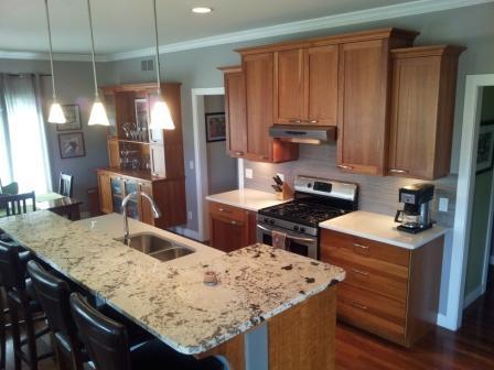 Lake Wisconsin Modern Kitchen