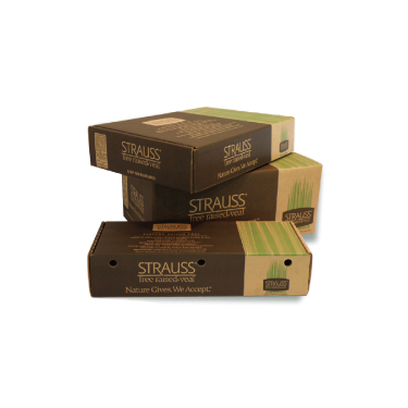 Production of Strauss Brands corrugated shipping boxes (Franklin, WI).