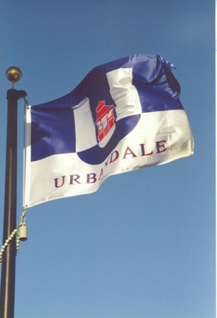 Urbandale Flag Flies High