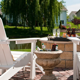 Enjoy your outdoor space with a custom firepit