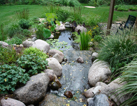 Let us design a custom water feature for your landscape