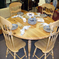 Solid Pine table Set