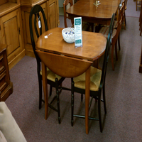 Maple Drop-Leaf Table Set