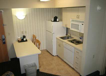 Full Size Kitchen in Suites