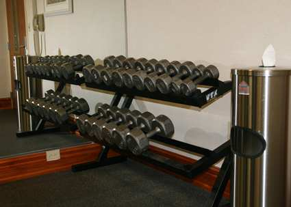 Fitness Center Dumbell Area