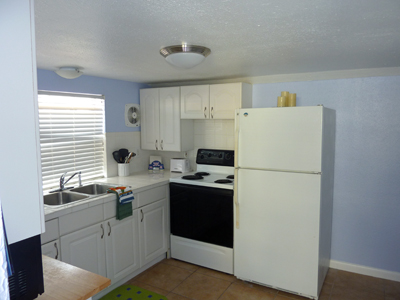 The Sea Breeze Suite Kitchen