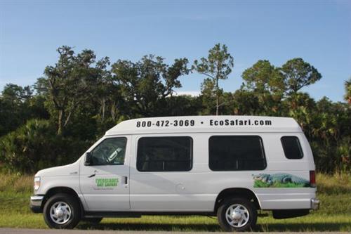 Comfortable custom tour van