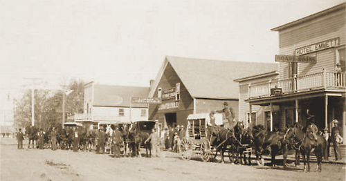 Historic West Main Street 1901