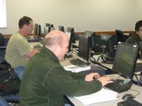 Plenty of computers available for a hands-on experience at Herzing University.